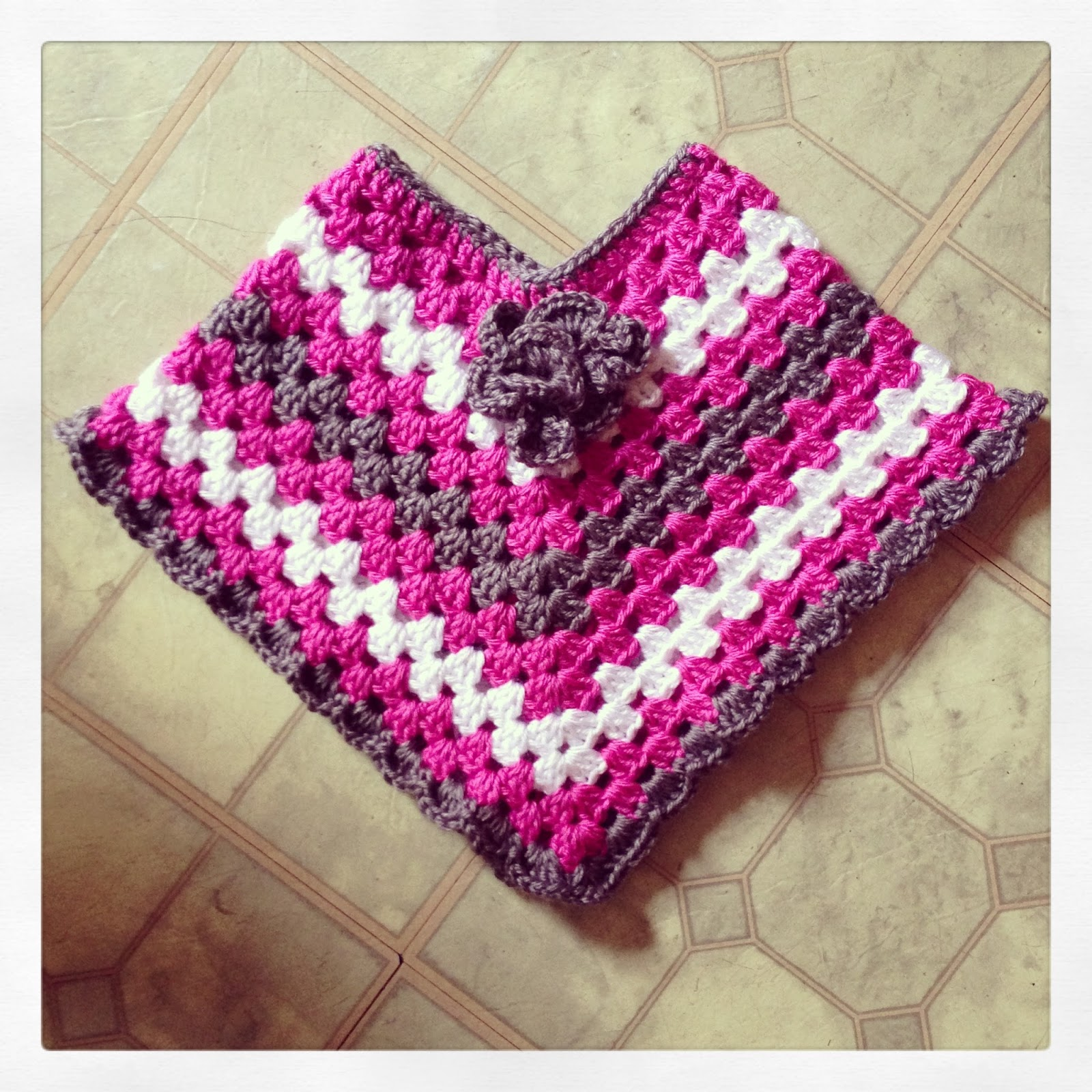 Crochet Baby Poncho Tutorial: Sooz in the shed fringed baby poncho ...