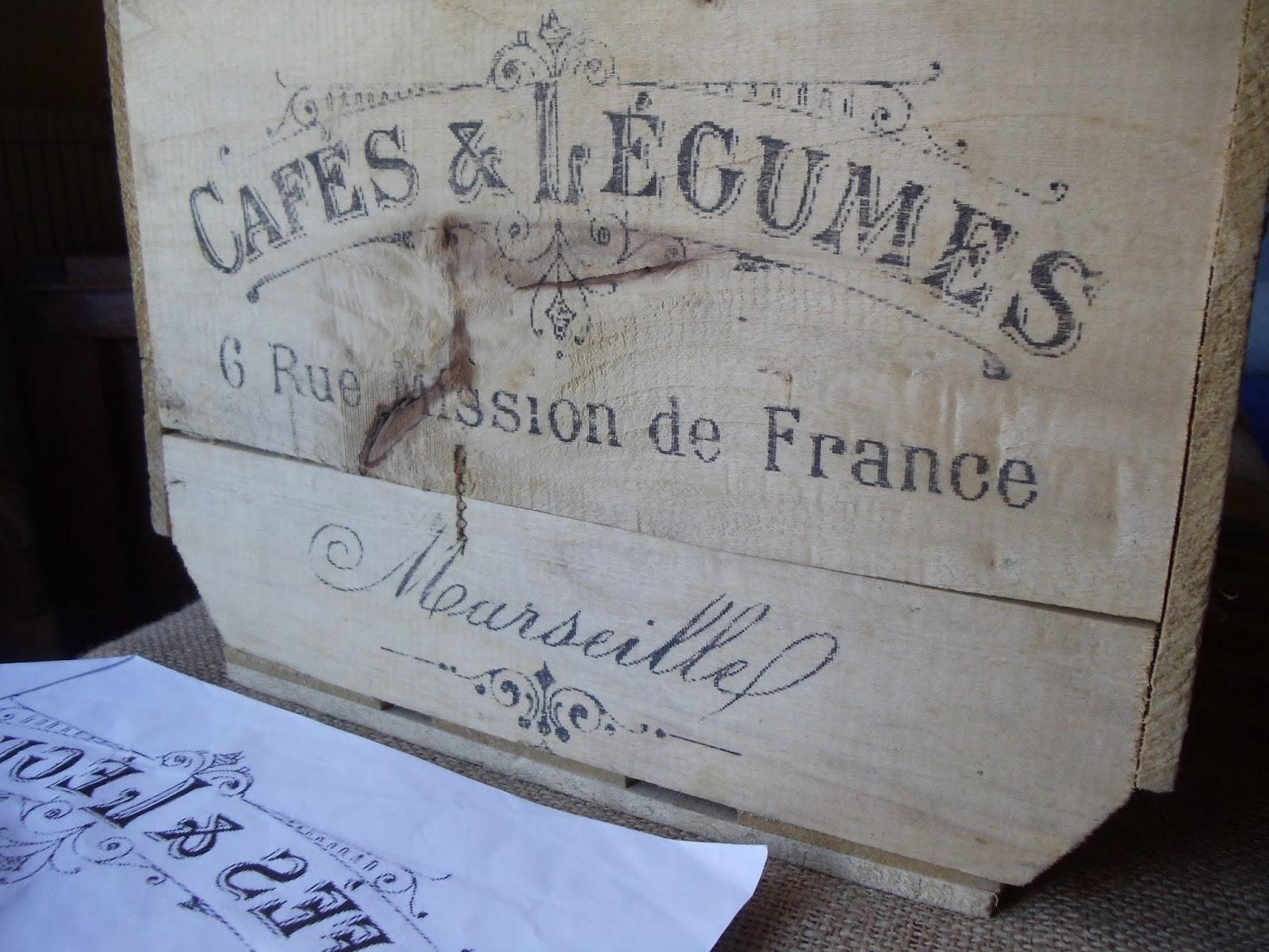Migajas de tiempo transferencia sobre madera - Transferir fotos a madera ...