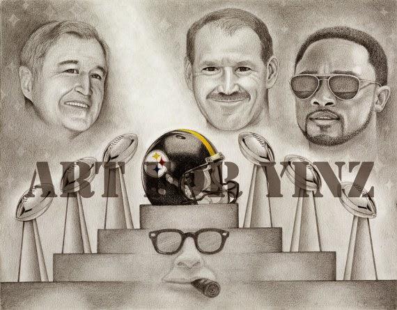 Chuck Noll ,Bill Cowher ,And Mike Tomlin