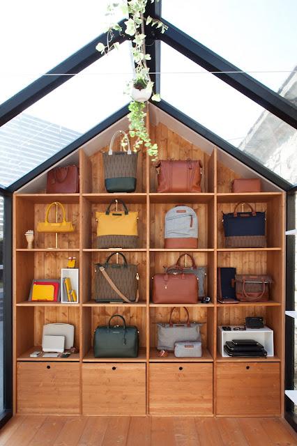 我們看到了。我們是生活@家。: 可愛的小房子展示間!加拿大包包皮件品牌WANT Les Essentiels de ...
