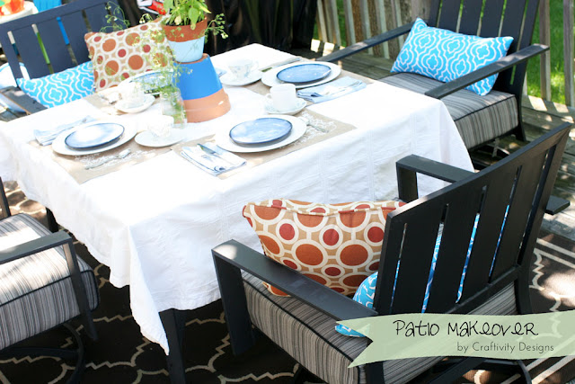 Craftivity Designs 2 Tablescapes For Outdoor Dining