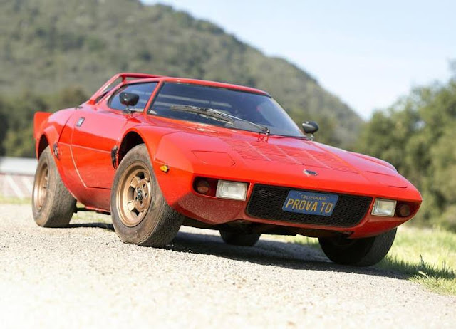 Original condition Lancia Stratos for auction
