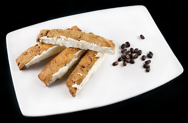 Espresso Pecan Biscotti: A Guest Post with Chef Dennis on @KatrinasKitchen