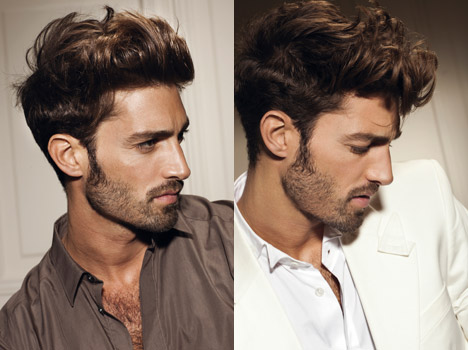 Top men hairstyles spring-summer 2012-2