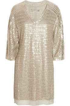 Embellished silk-chiffon mini dress by Reed Krakoff - item