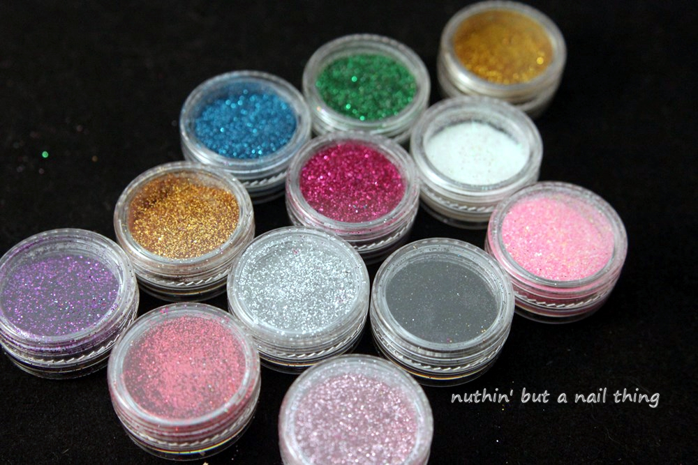 NK1 Secrets - Prep & Shine and Loose Glitter Set