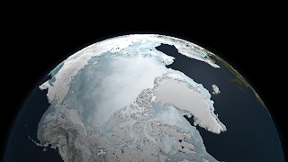 artic sea going decrease
