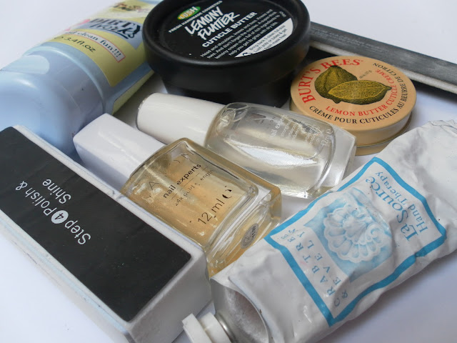 A picture of Hand and Nail Care Products