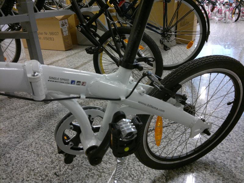 hopfällbar cykel biltema