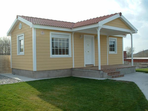 Casas prefabricadas for Tipos de techos de casas