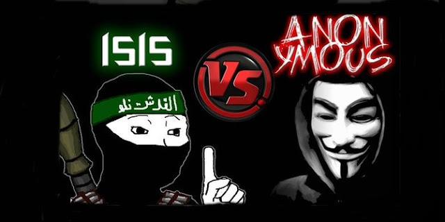 Hacker Anonymous bersumpah balas dendam pada ISIS atas Teror Paris