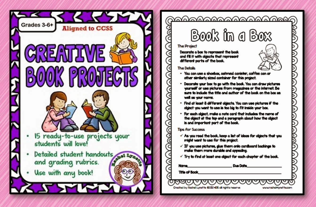 creative book report posters