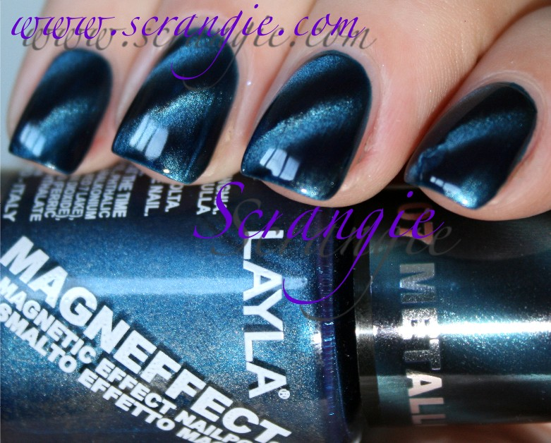 Scrangie: Layla Magneffect Magnetic Nail Polish in Golden Nugget and ...