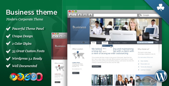 Celta Business WordPress Theme Free Download by ThemeForest.