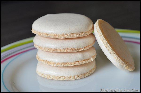 macarons coques meringue italienne