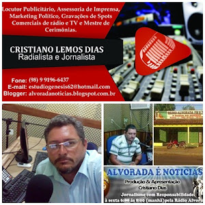 CRISTIANO DIAS/RADIALISTA E JORNALISTA
