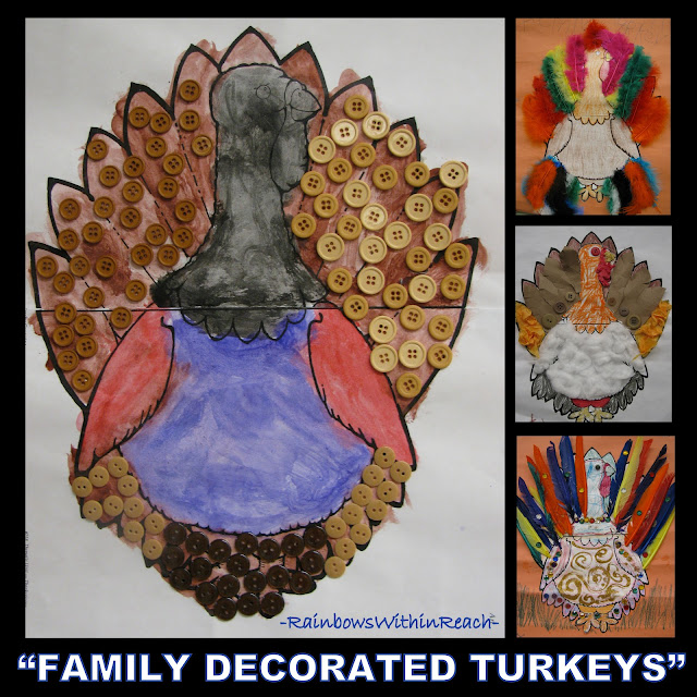 photo of: Turkey Homework for the Family at Thanksgiving (via RainbowsWithinReach)