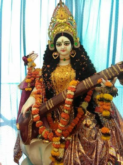 सरस्वती पूजनपर मैथिली संगीत, मिथिला पेंटिंग आ पोथीमेला