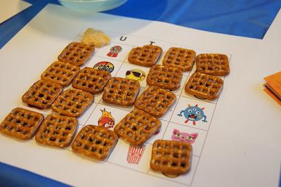 Snacks for bingo markers