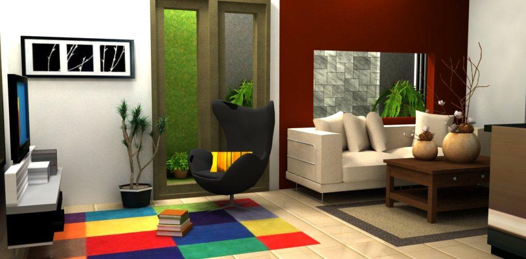 desain interior ruang tamu minimalis - desain gambar ...