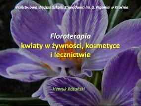 Dr Henryk Różański - Floroterapia