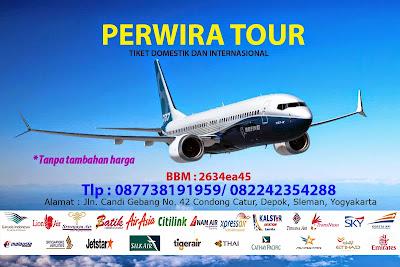 Agen Tiket Pesawat Murah di Yogyakarta