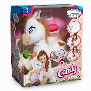 Candy pony cavallo Emotion Pets Giochi Preziosi giocattolo interattivo peluche regalo Natale 2013