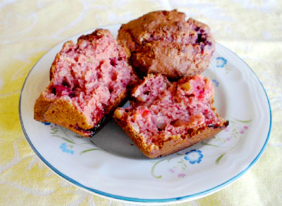 Gluten Free Cherry Almond Muffin Recipe