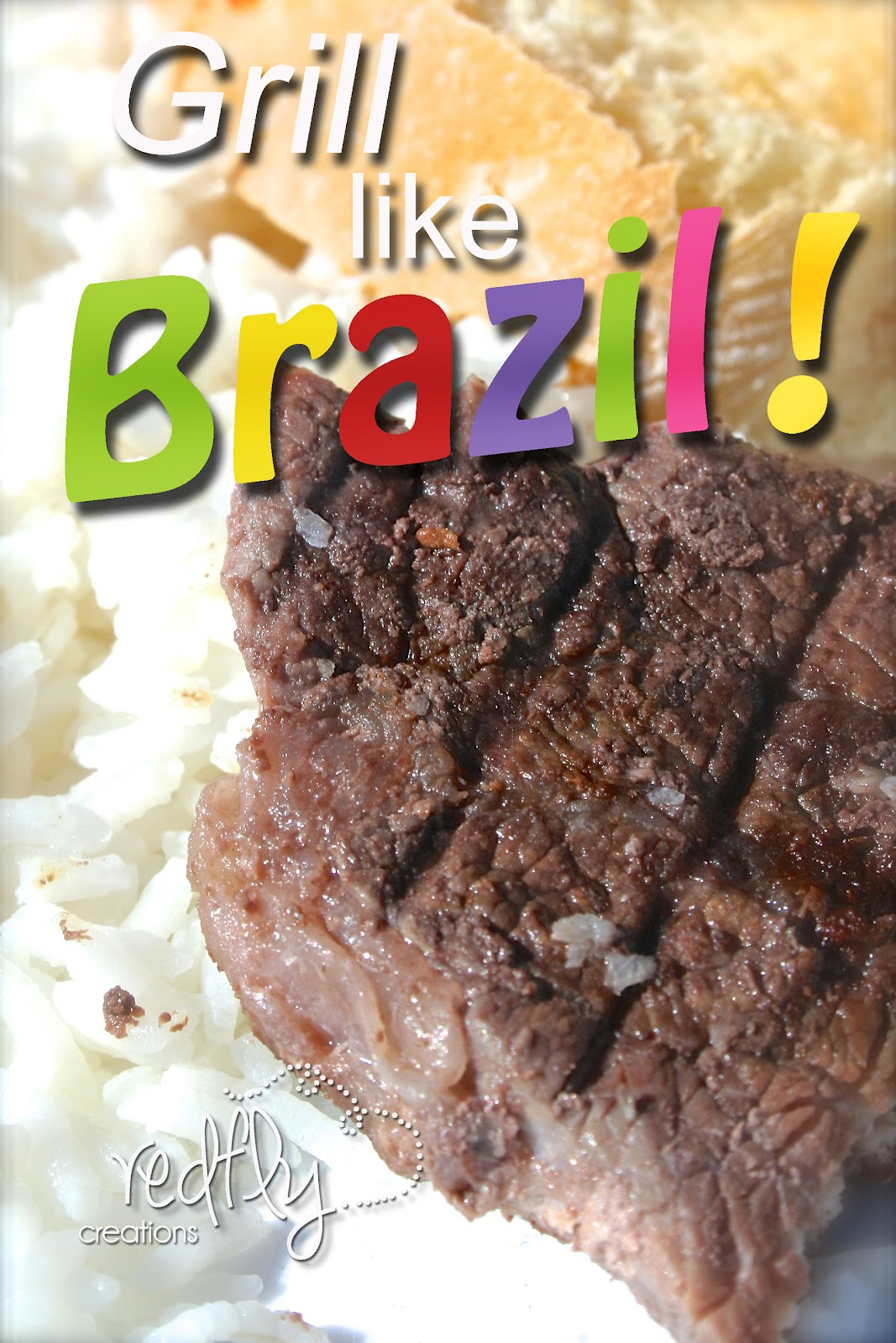 Redfly creations how to make brazilian churrasco this style of beef is easy to cook it makes the most inexpensive cuts of meat into tender juicy and delicious strips of steak forumfinder Images