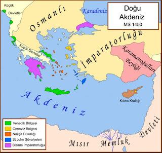 Memlükler Devleti haritası