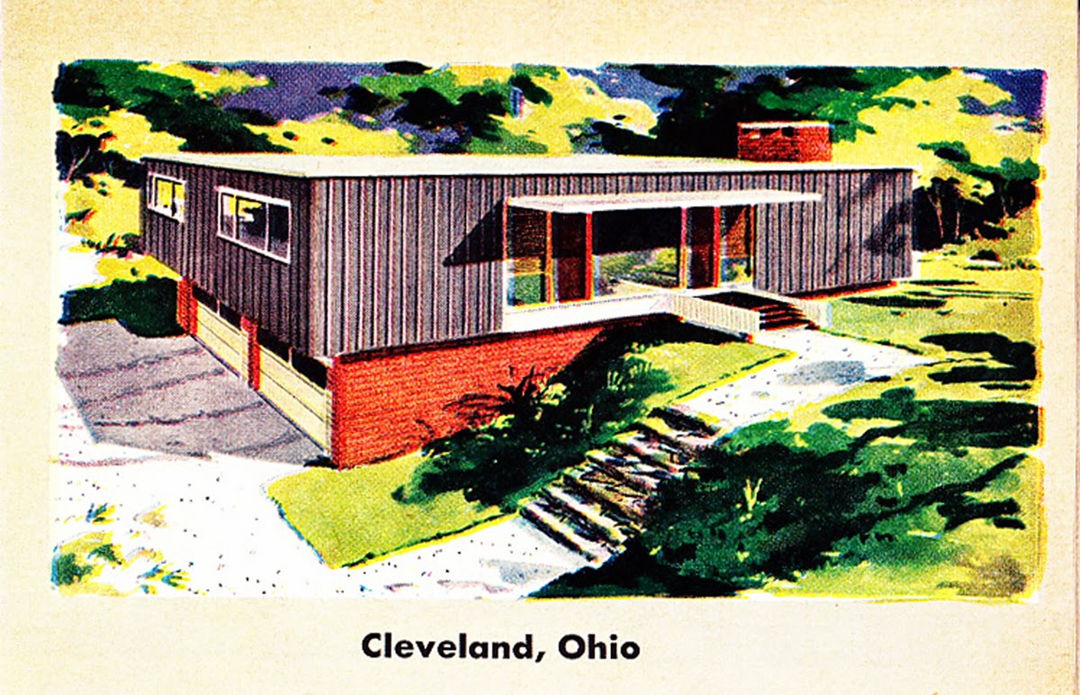 Retro House Plans Parade of 1956 home plans #6:: galleryhip.com/retro-house-plans.html