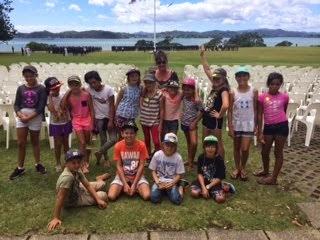 Visiting Waitangi.
