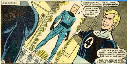 10 Kostum Spider-Man Terbaik Sepanjang Masa: Bag-Man Suit