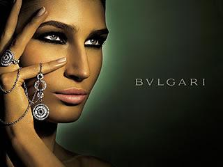 Anuncio de joyas de Bulgari