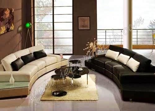 ruang tamu mewah desain 2015