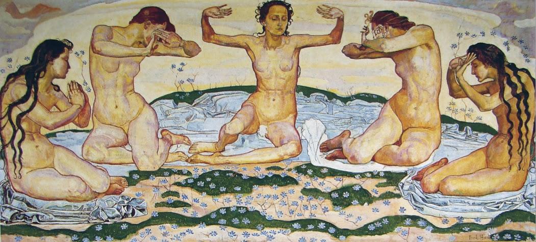 Afbeeldingsresultaat voor symbolisme schilderij