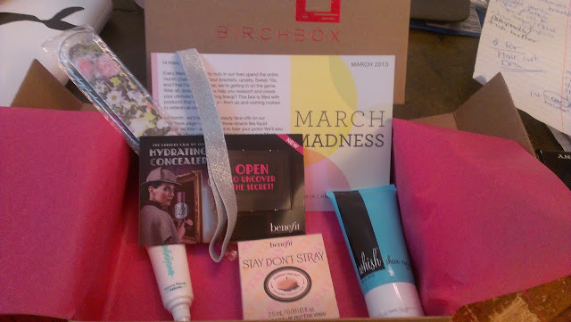 March birchbox, birchbox