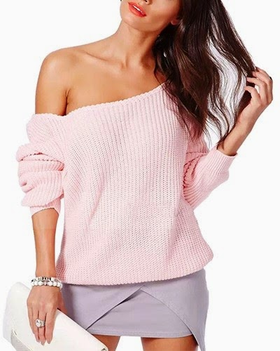 http://www.yoyomelody.com/pink-one-shoulder-waisted-knit-jumper-in-loose-fit-st0150072-2.html