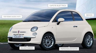 Fiat 500 cabrio 2013