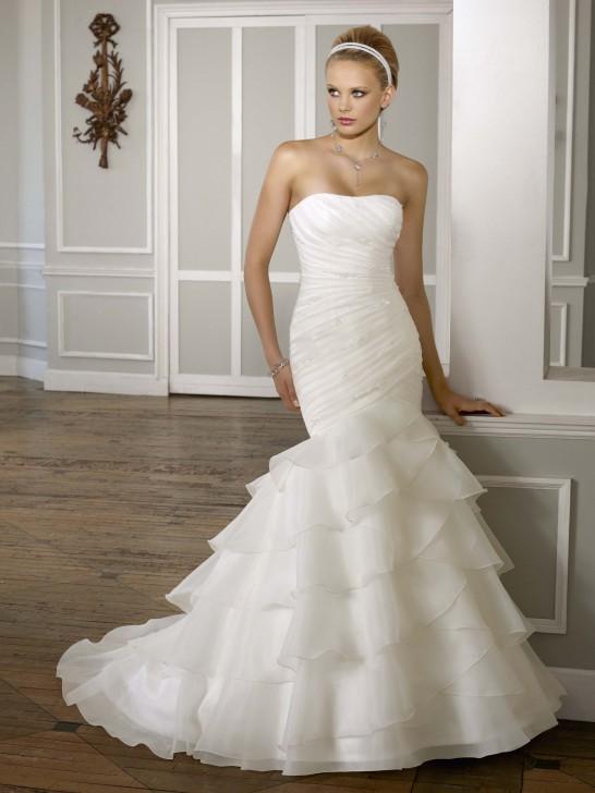 Mariage et collections: La robe de mariée sirène