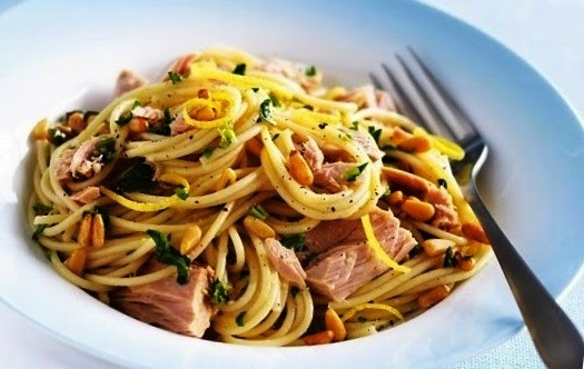 Pasta with Tuna Recipe.