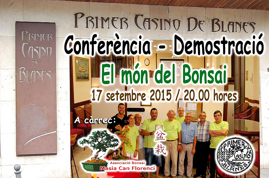 Conferencia en Casino Blanes