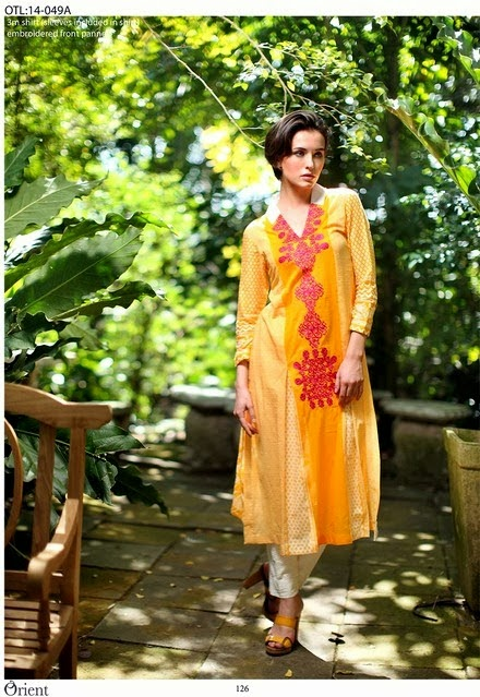 Orient Lawn Collection 2014