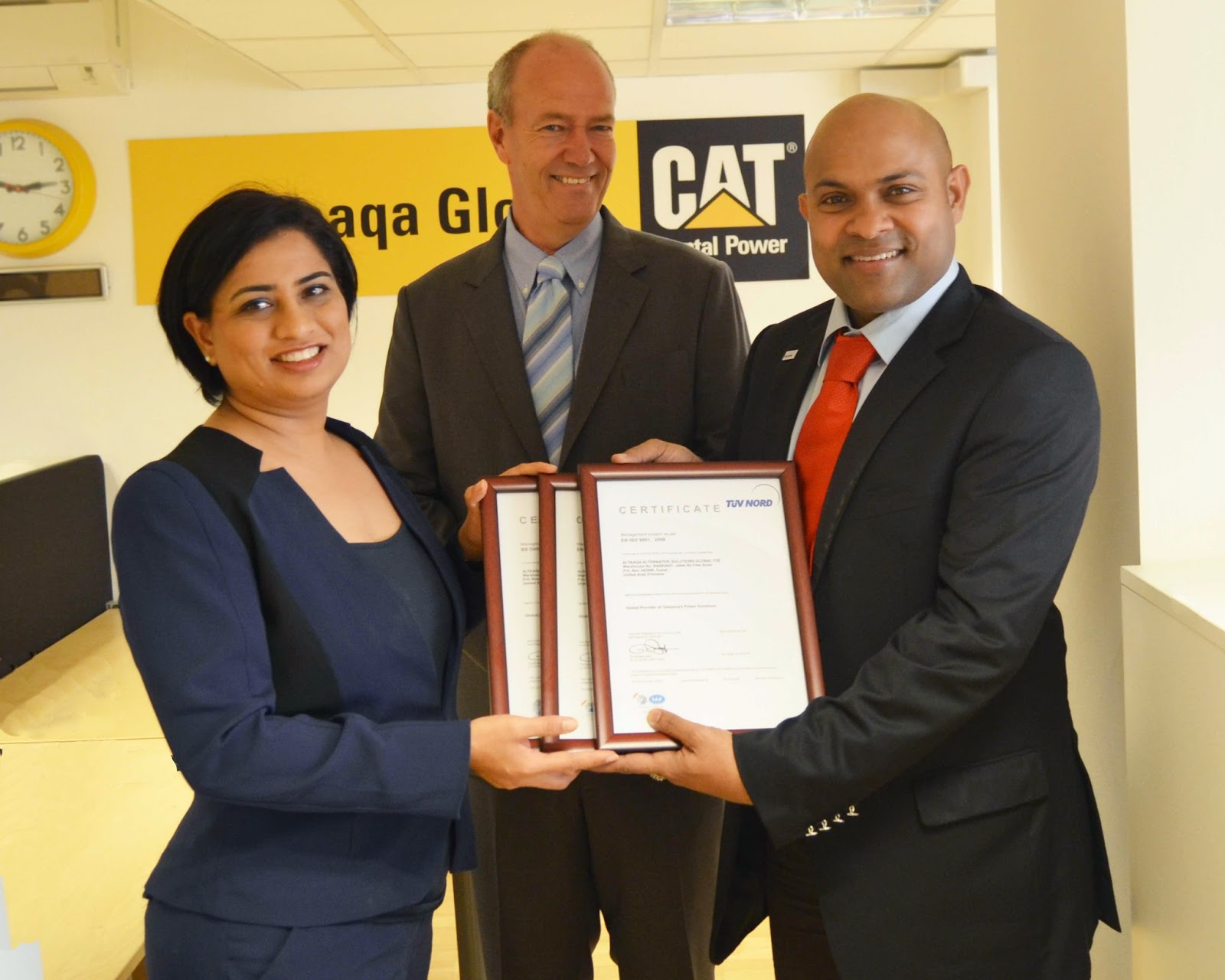 Altaaqa Global Altaaqa Global Receives Iso 9001 Iso 14001 And