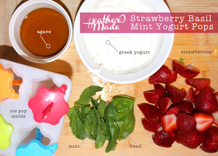 Strawberry, Limeade And Vanilla Yogurt Pop Recipe — Dishmaps