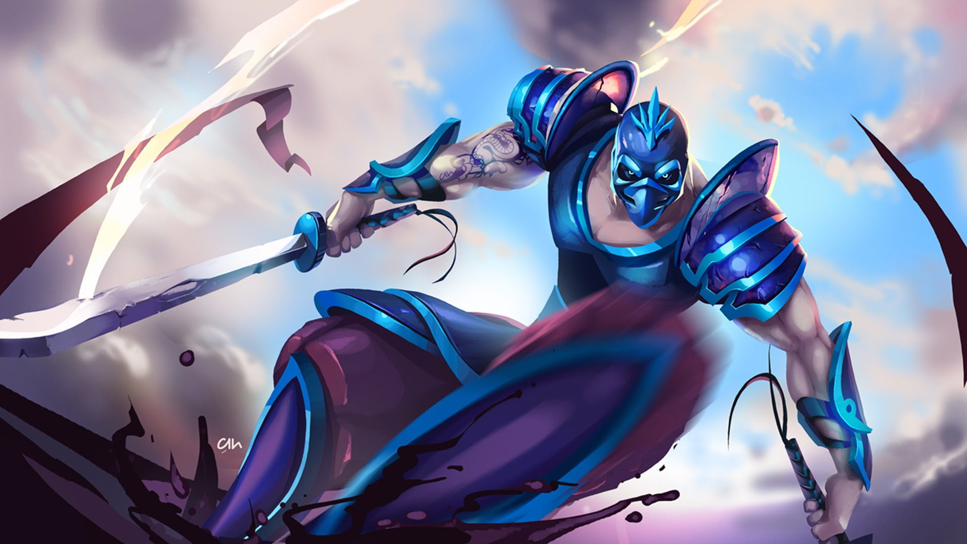 Game wallpaper league of legends yasuo wallpapers iphone with high - Shen League Of Legends 1t Wallpaper Hd