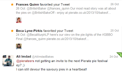 Pie Bake Off Tweets
