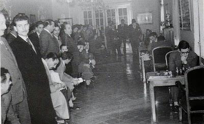 última ronda del Torneo Internacional de Ajedrez Tarragona 1954