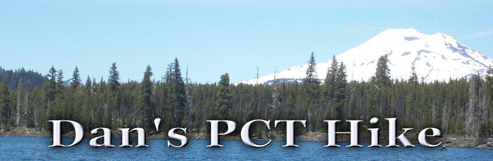 Dan's PCT Hike
