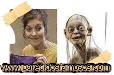 Nuria González con Gollum